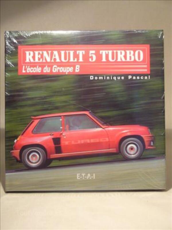 """Idée KDO ... """"Renault 5 Turbo L'école du Groupe B"""" 23402300"""