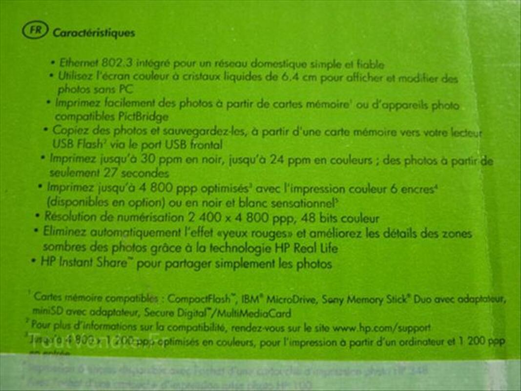 Imprimante HP Photosmart 2575 tout en un (50€) 54547864