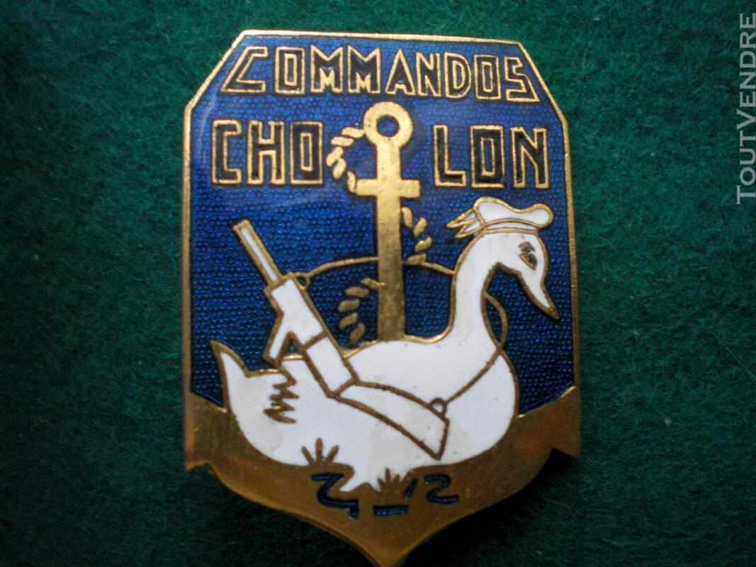 Insigne colonial - Commandos CHOLON. 117744073