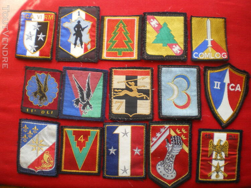 Insigne d'Infanterie et divers en tissu 233612555