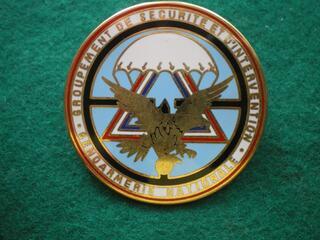 Insigne de Gendarmerie - Sécurité et Intervention