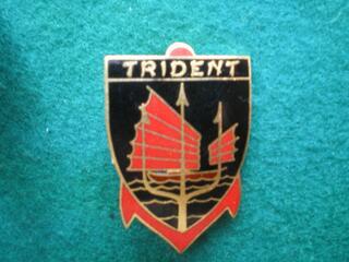 Insigne de marine Patrouilleur TRIDENT