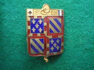 Insigne de Santé - 8° SIM - BOURGOGNE.