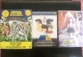 Intégrale DVDs Saint Seiya VO/JAP ( pas de stf )