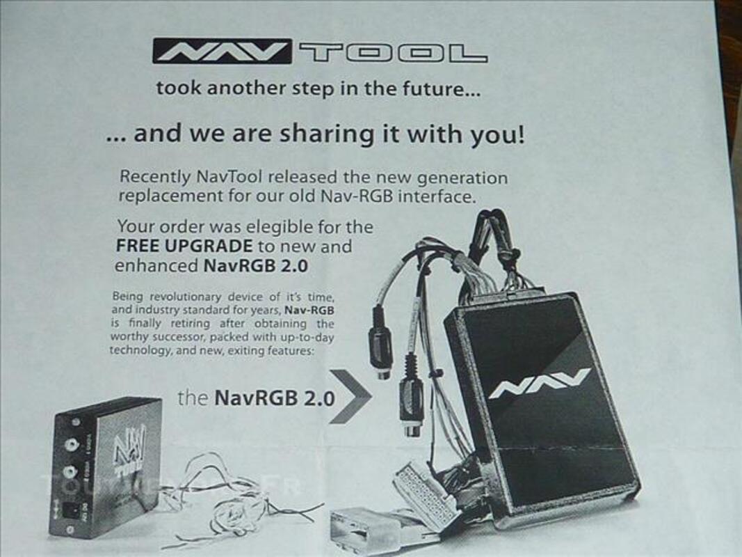 Interface NAVTOOL NavRGB 2 pour BMW 78246054