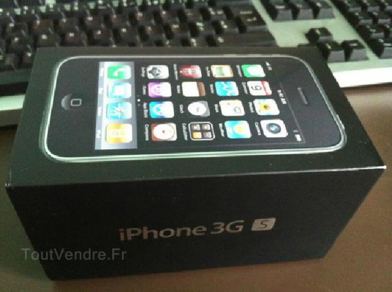 IPHONE Apple noir 3gs 16go NEUF DEBLOQUE+ facture 103550969