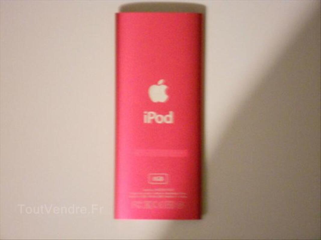 IPod nano-chromatique - 8 Go - Rose avec étui et boîte 56344757