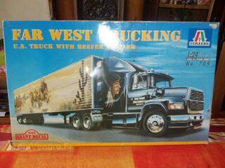 Italeri 1/24 maquette camion far west trucking