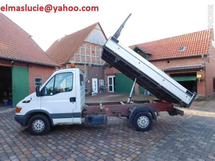 Iveco Daily 35 S 13 tribenne double cabine 459418344