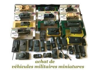 J'achète vos miniatures militaires neuves ou anciennes