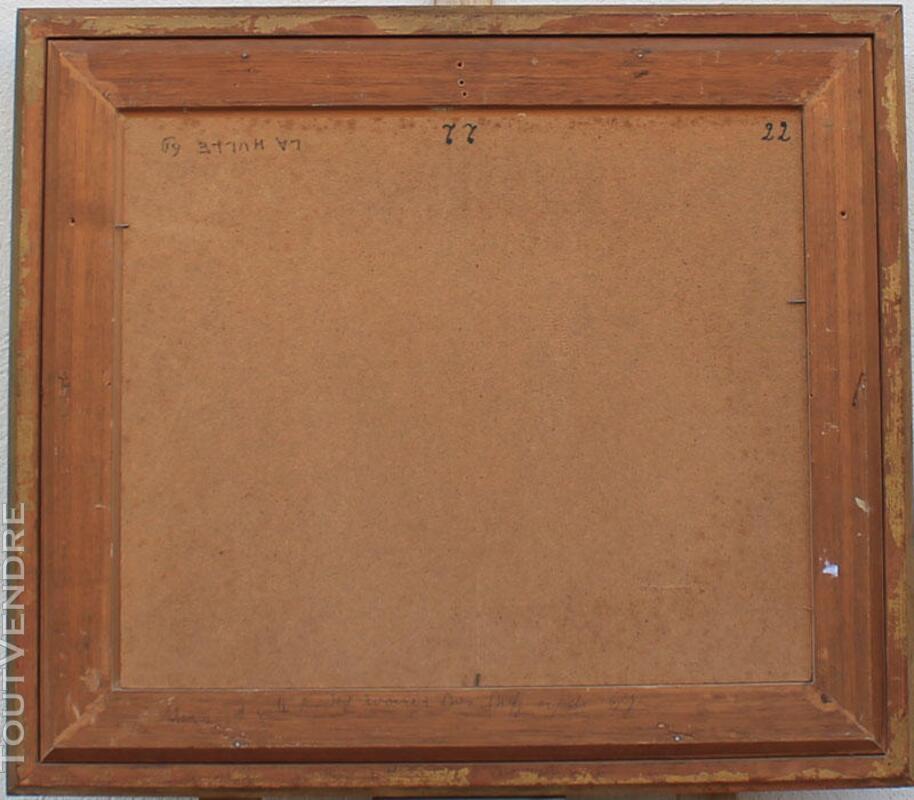 J THYS La HULLE FORET BOIS ANCIEN TABLEAU PEINTURE 164096573