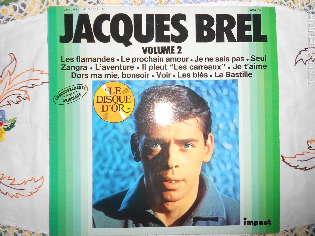 """""Jacques Brel"" volume 2"""" 129644523"