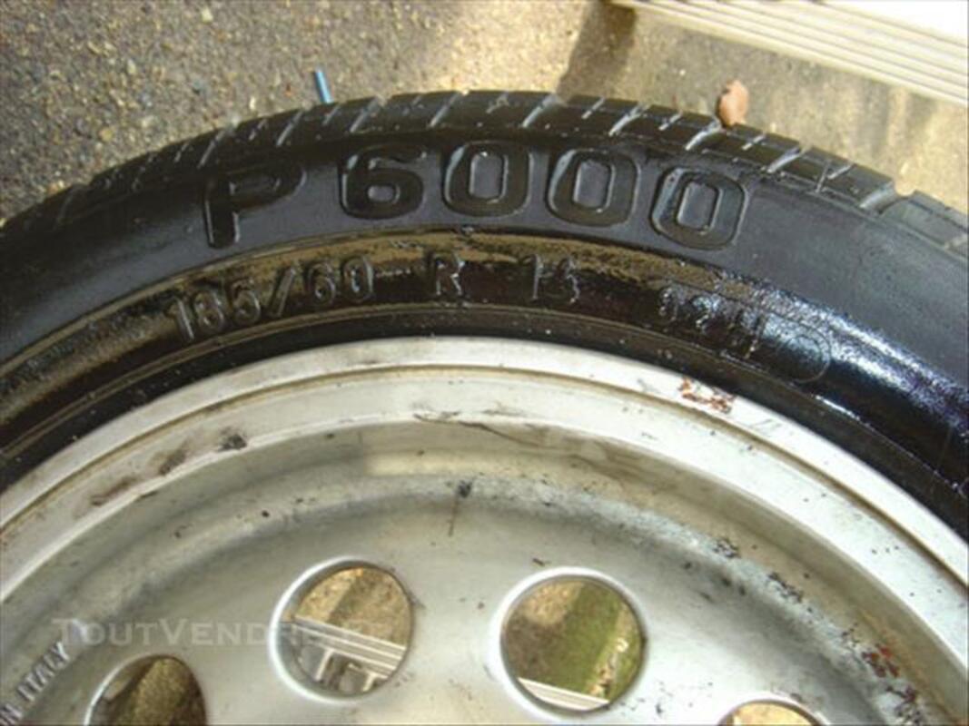 Jante alu 205 gti + pneu pirelli 84862653