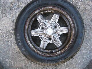 Jante Targa bi-métal 5X13 peugeot 104