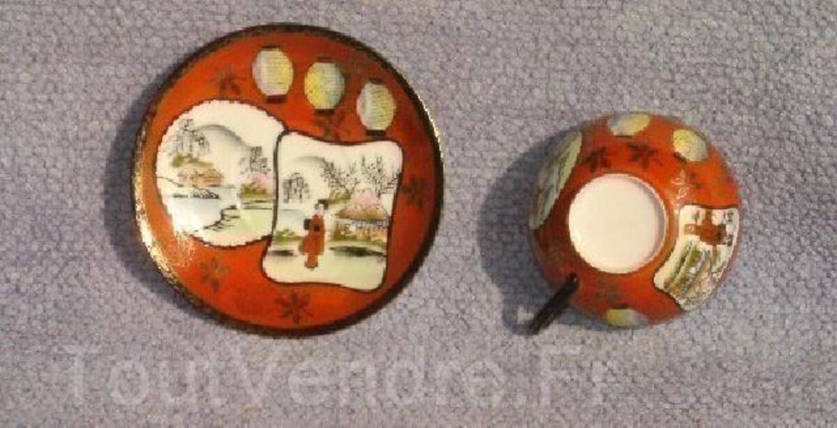 Japonaise superbe tasse en porcelaine fine - lithophane 91861238