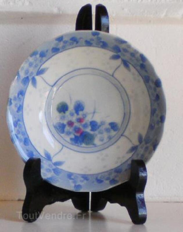 Japonaises-deux assiettes creuses en bleu subtile 91478001