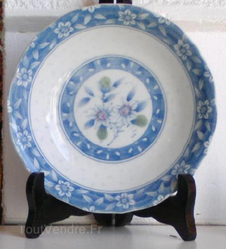 Japonaises-deux assiettes creuses en bleu subtile 91478002