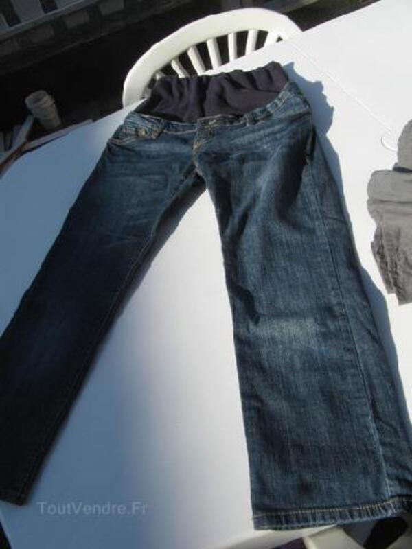 Jean et jupe de grossesse T38/40 105400441