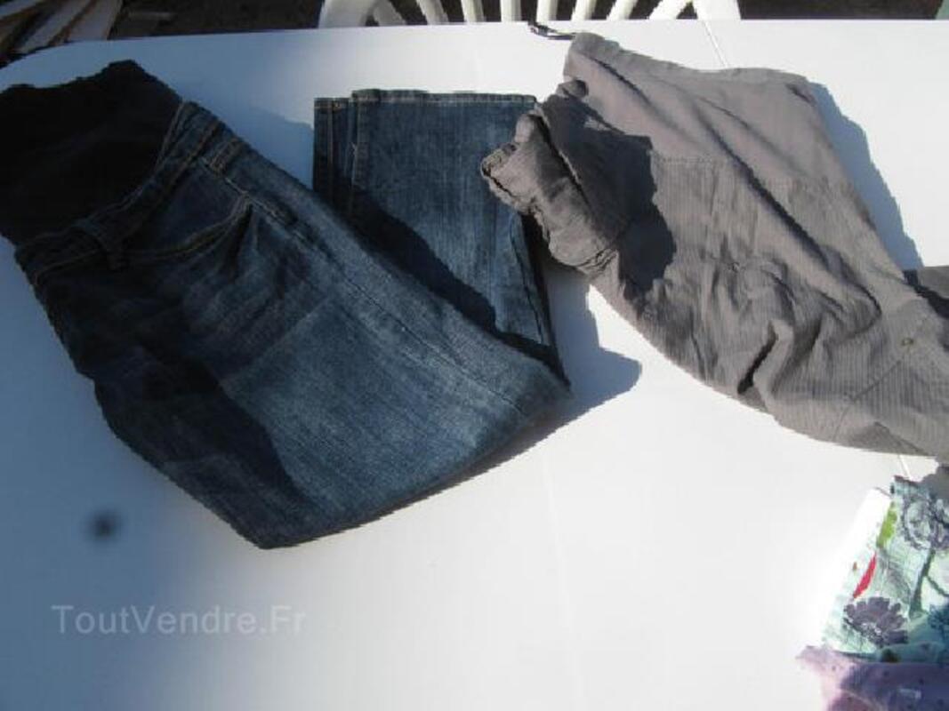 Jean et jupe de grossesse T38/40 105400442