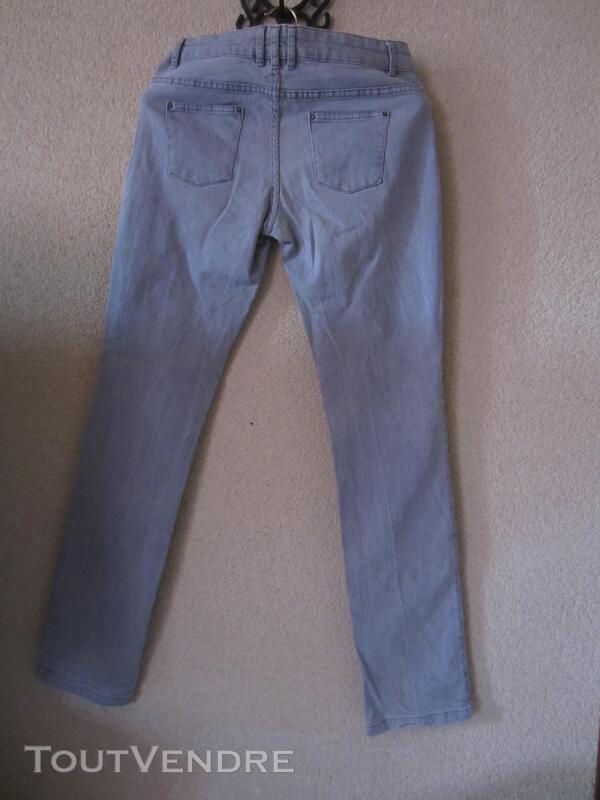 Jean gris Soft Grey T 38 270874845