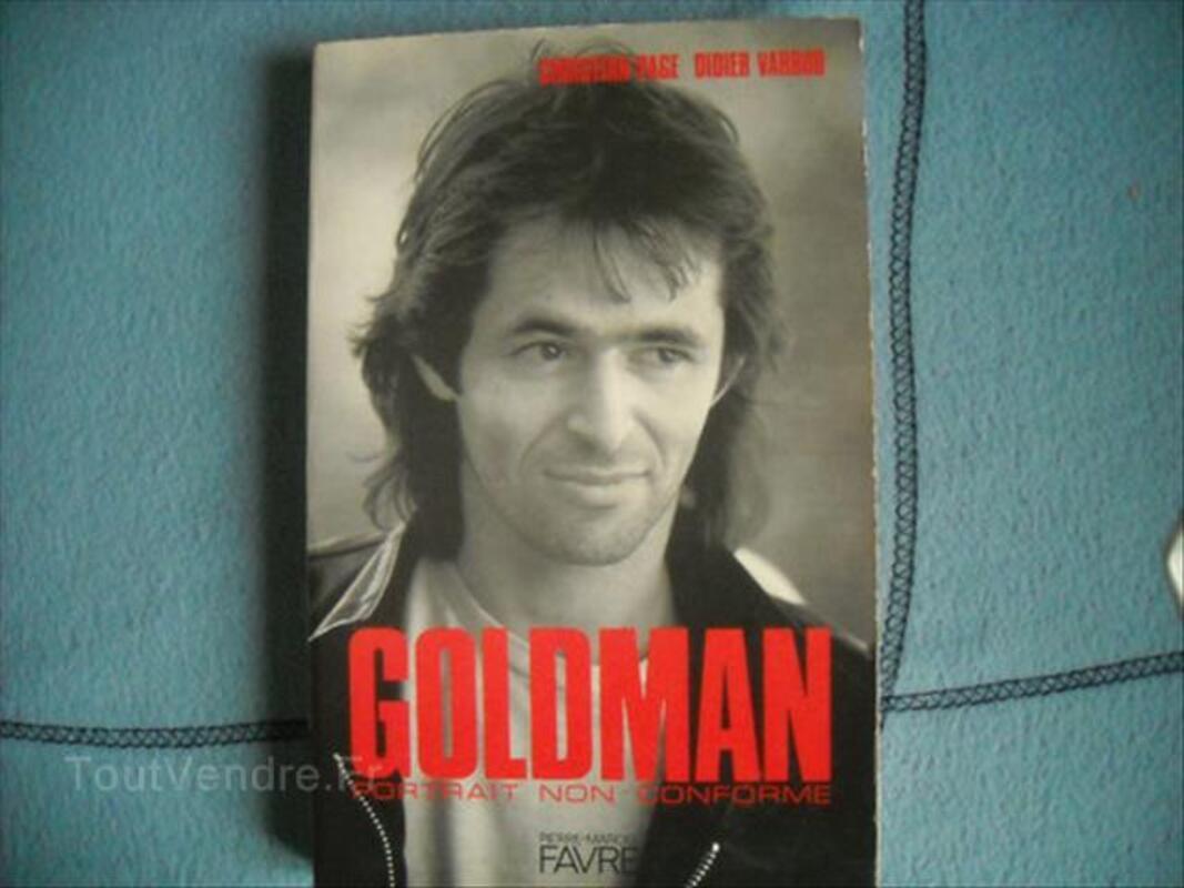 Jean jacques goldman portrait non conforme 54501990