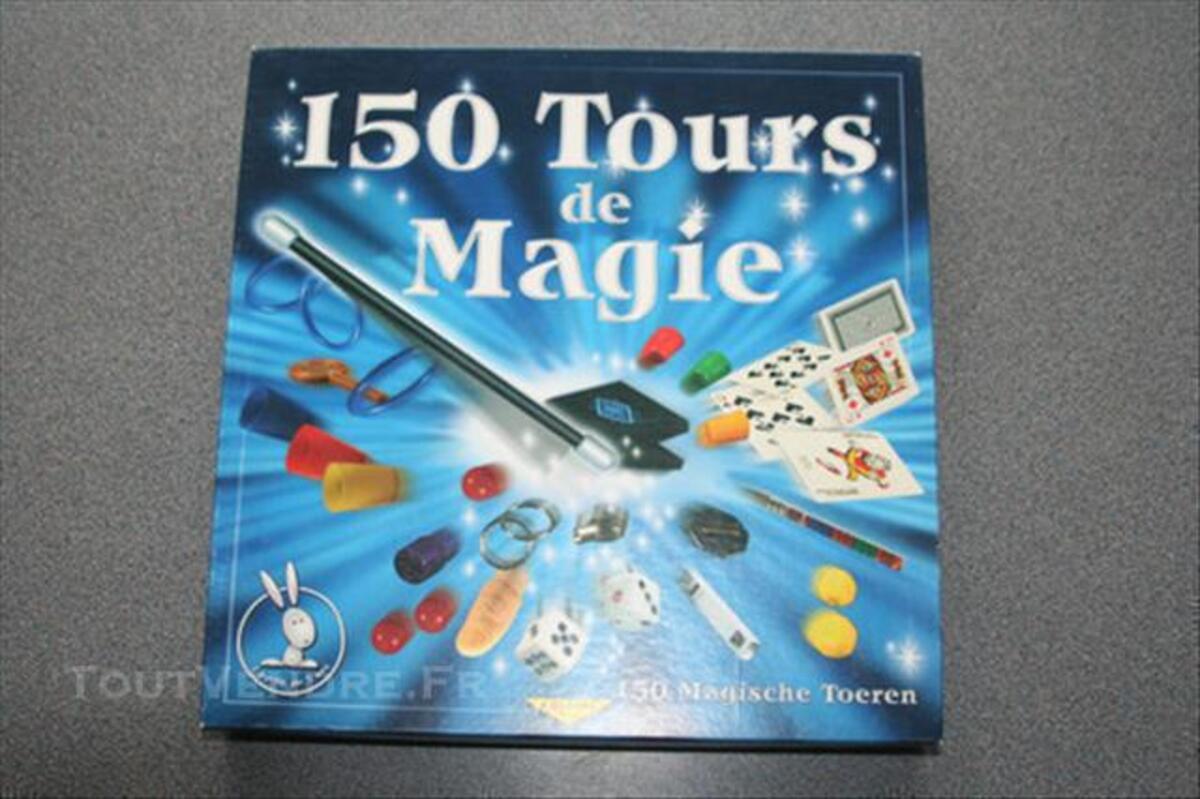 JEU 150 tours de magie 76192395