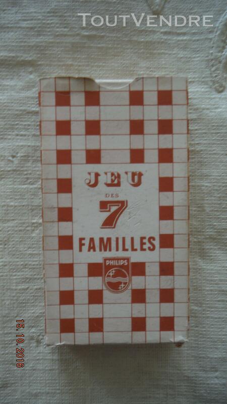 """Jeu 7 FAMILLES """"PHILIPS Appareils Ménagers"""" 308686436"""