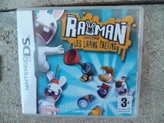Jeu DS Rayman contre les Lapins Crétins