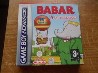 """Jeu Game Boy Advance """"Babar"""""""