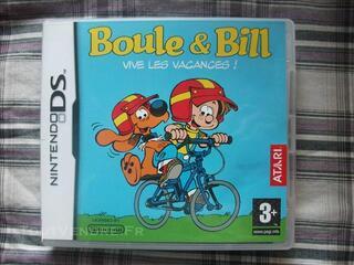 """Jeu Nintendo DS Boule et Bill """"Vive les vacances"""""""