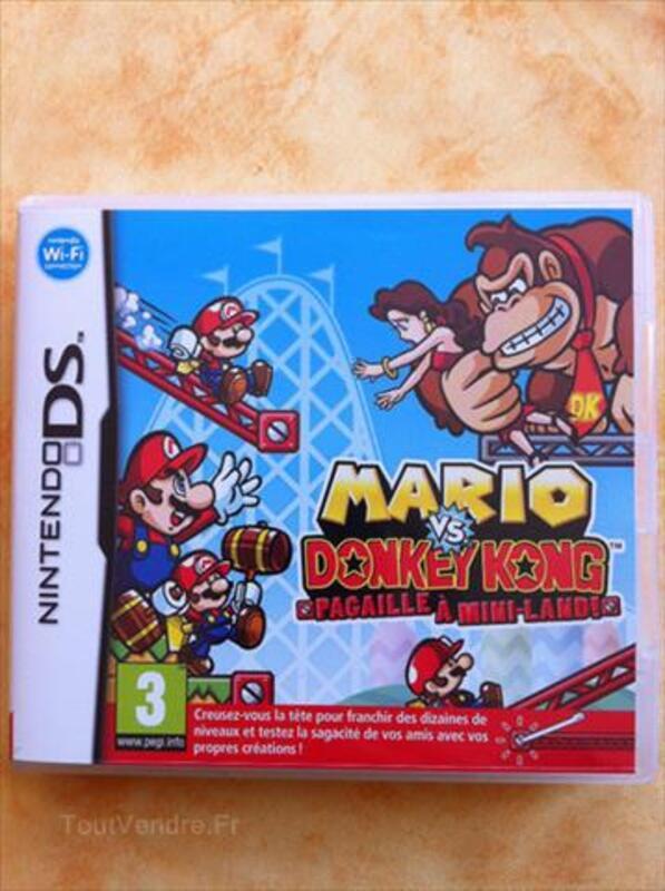 Jeu nintendo DS Mario vs Donkey Kong 89181850
