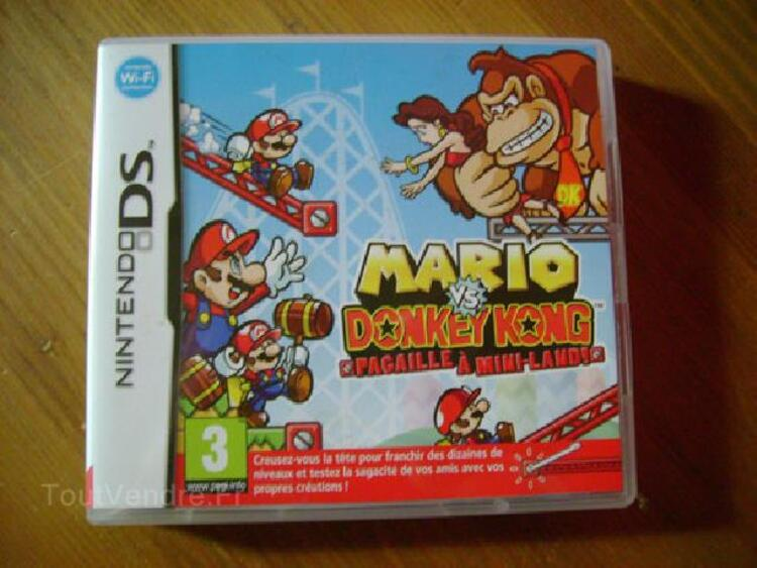 Jeu Nintendo DS Mario vs Donkey Kong 91873185