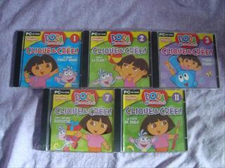 Jeu PC Dora l'exploratrice Clique et Crée