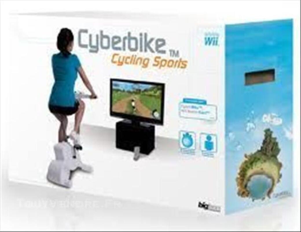 Jeu Wii+vélo Cyberbike 44699579