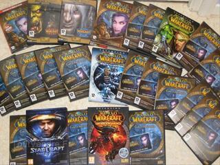 Jeux Blizzard, World Of Warcraft, Starcraft II etc...
