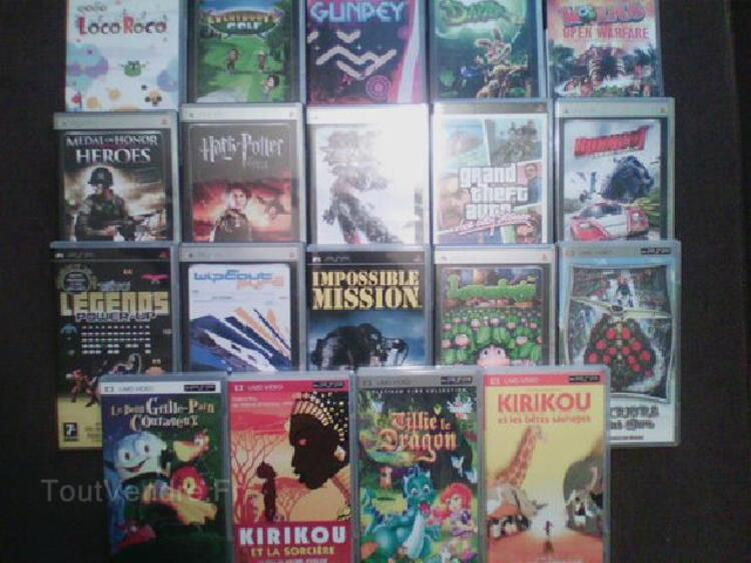 Jeux et videos pour PSP par lots ou unité 91410456