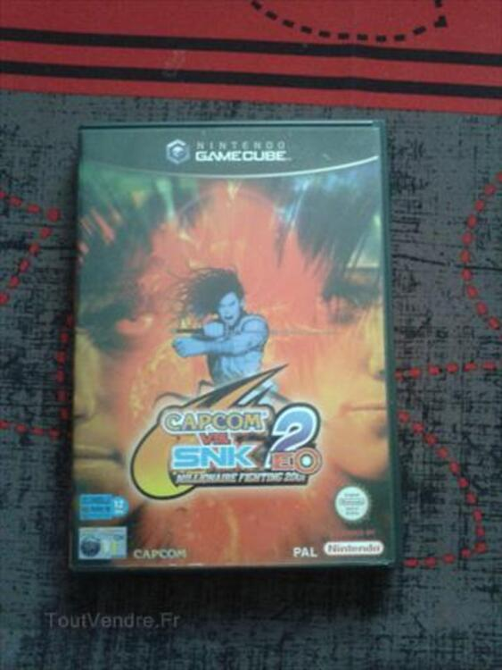 Jeux Gamecube : CAPCOM VS SNK 2 56262636