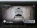 Jeux guitar hero  pack metallica