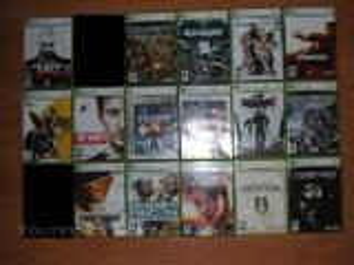 Jeux Xbox360 très bon état
