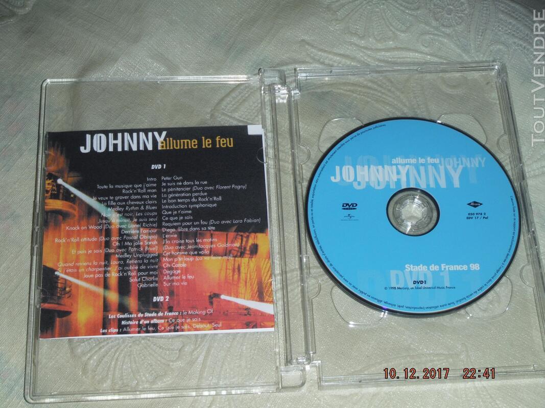 JOHNNY HALLYDAY - Allume le feu B.Schmidt 311622203