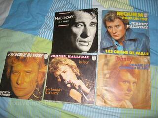 Johnny hallyday vinyles 33t 45t vinils vinyl