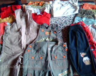 Joli lot de 20 vêtements pour garçon de 6 mois