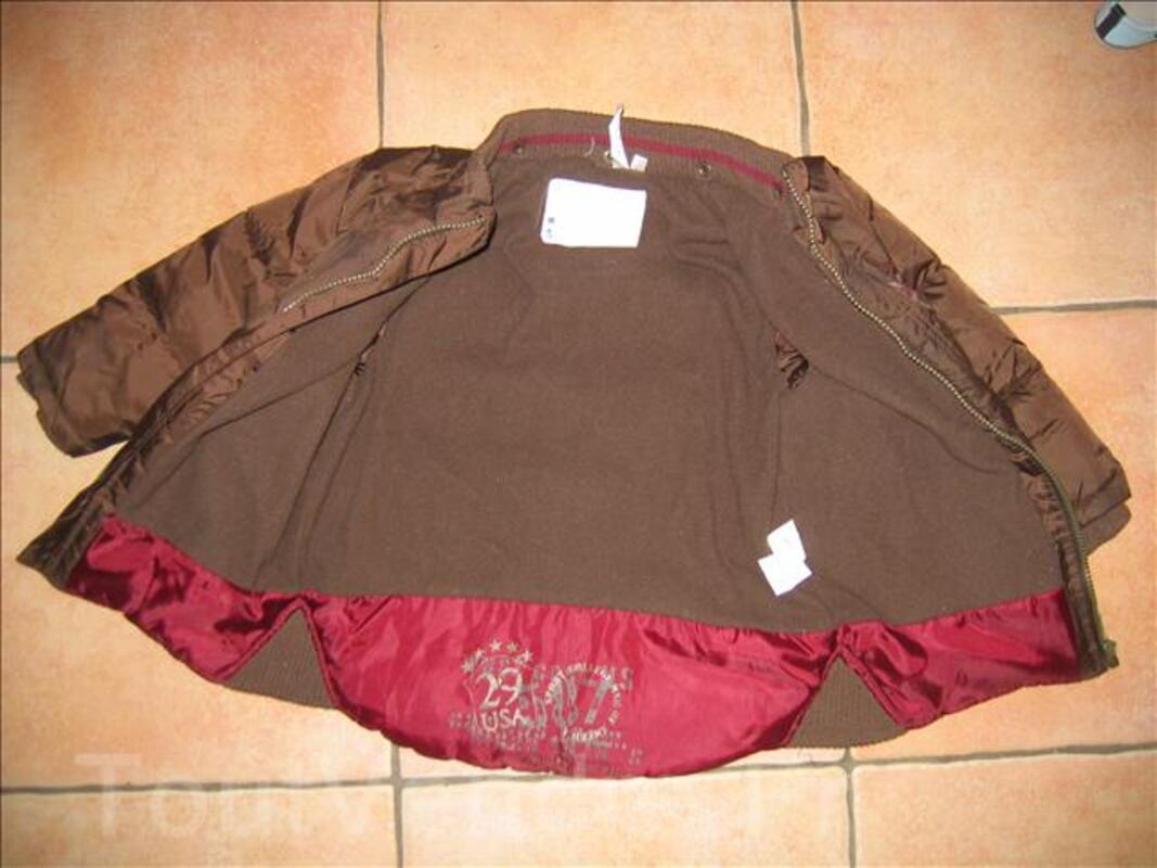 Joli manteau marron kiabi taille 4 ans 6405225