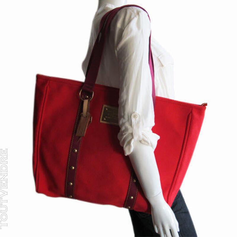 Joli sac Louis Vuitton Modele Antigua cabas XL authentique 444882199