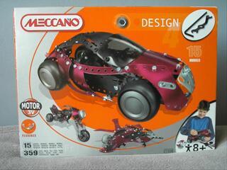 Jouet à Construire Design 4 Meccano