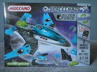 Jouet à Construire Patrol Silver Force Meccano