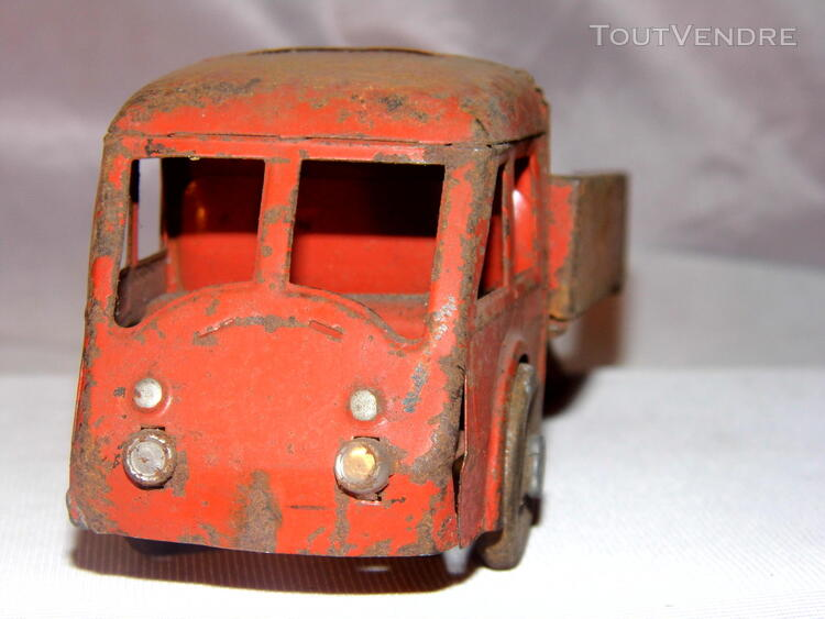 Jouet ancien tole 2 camions non Joustra dinky toys norev 251326677