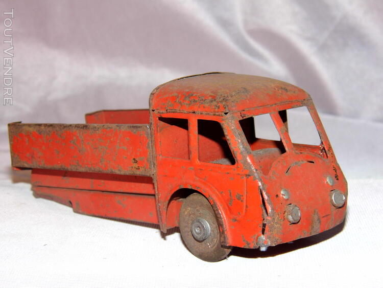 Jouet ancien tole 2 camions non Joustra dinky toys norev 251326679