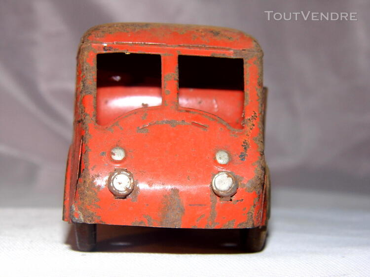 Jouet ancien tole 2 camions non Joustra dinky toys norev 251326681