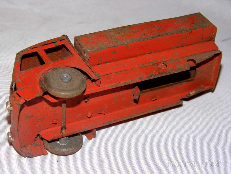 Jouet ancien tole 2 camions non Joustra dinky toys norev 251326683